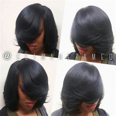 style long bob no heat full sew in no leave out long bob razor cut bob weaves