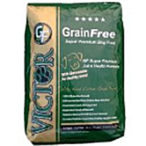 victor grain free food fred marion