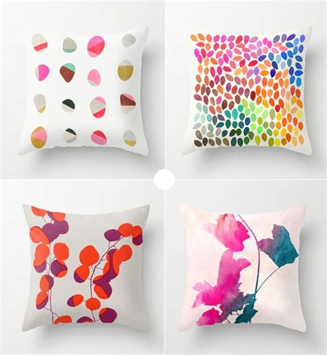 Painted Pillows by Painted Throw Pillows By Garima Dhawan For The Home