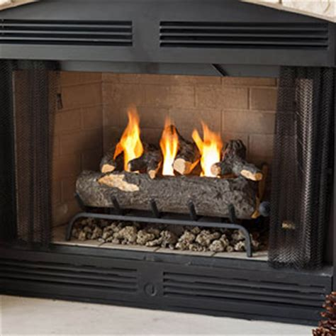 gas log wall heater fireplace fireplaces