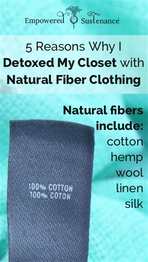 How Do I If I A Detoxed by 5 Reasons To Switch To Fiber Clothing