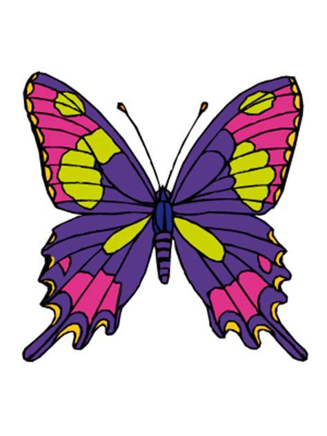 imagenes mariposas navidad dibujos de mariposas para colorear y pintar todopap 225 s