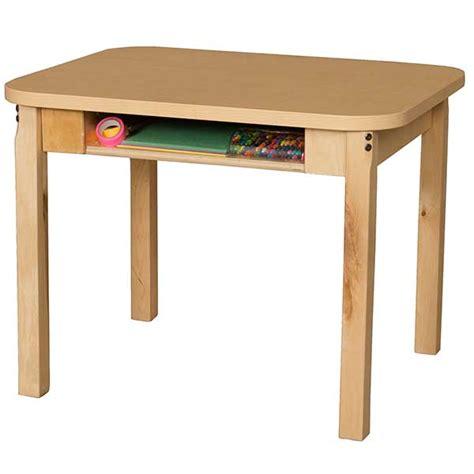 Wood Open Front Student Desk 18 Quot H Wood Designs Schoolsin Open Front Student Desk