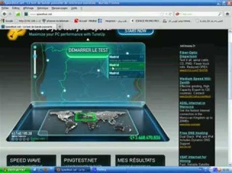 test speed telecom test speed adsl maroc telecom flv
