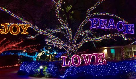 Image Gallery Houston Zoo Lights 2015 Zoo Lights In Houston