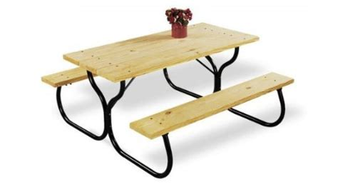 picnic table frame kit enjoy a weather outdoor with your post country garden picnic table frame kit modern