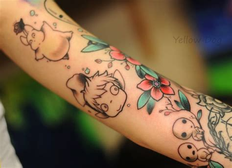 ghibli tattoo 1000 images about tattoos miyazaki on