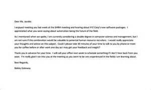 Thank You Letter After Phone With Hiring Manager Thank You Email After Phone 7 Free Sle