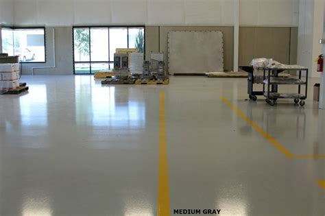 Heavy Tonnage Industrial Epoxy Flooring System