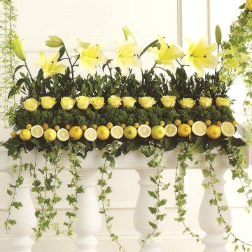 Wedding Flower Decoration Pictures by Lemon Centerpieces Summer Weddings