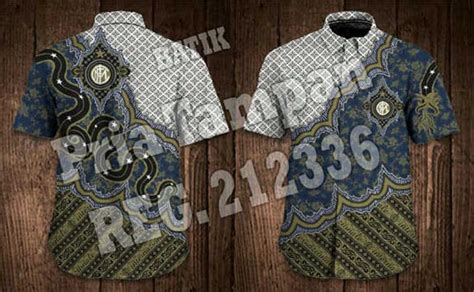 Baju Batik Inter Milan batik bola inter milan batikclubbola