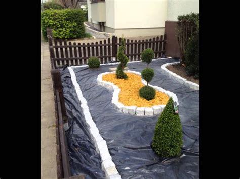 vorgarten anlegen vorgarten mit kies anlegen kunstrasen garten