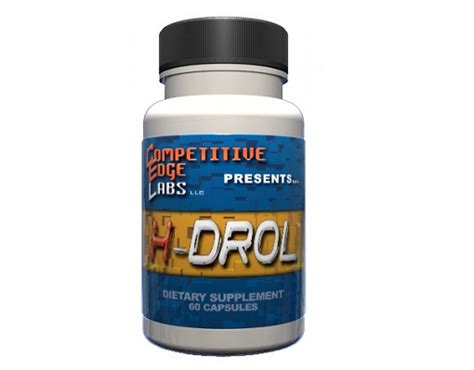 h drol supplement halodrol h drol competitive edge labs review