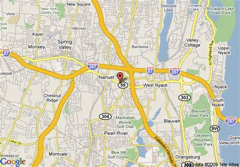 comfort inn nanuet ny map of comfort inn nanuet nanuet