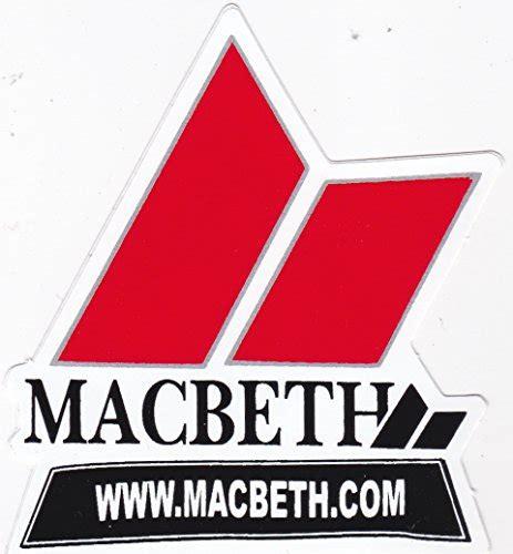 Sticker Macbeth Footwear Original Az31 Macbeth Shoes Brand Logo Skateboard Surfing Longboard