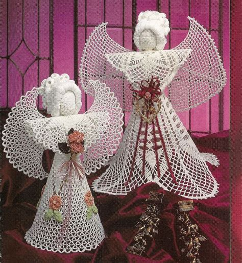crochet pattern christmas tree topper 17 best images about christmas crafts on pinterest