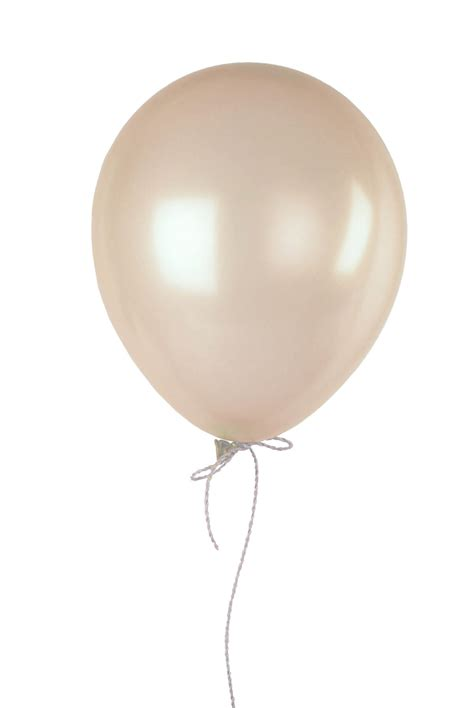 ivory  balloons pearl finish