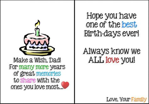 printable greeting cards for dads birthday start your trial of free birthday printable cards for