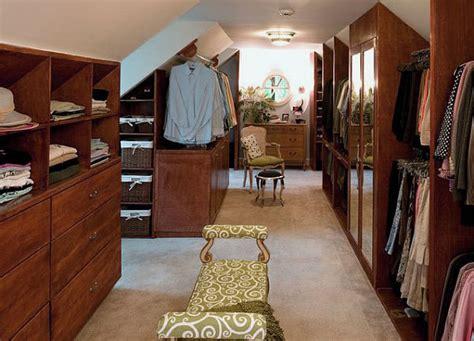 Attic Closet Design by Traditional Attic Closet Design Ideas