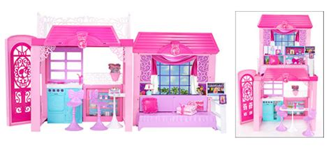 barbie glam vacation house barbie dolls 2 story glam vacation doll house dollhouse furniture playset pink ebay
