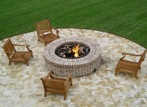 Large 48 Inch Gas Fire Pit Ring Kit Fine S Gas 48 Inch Pit