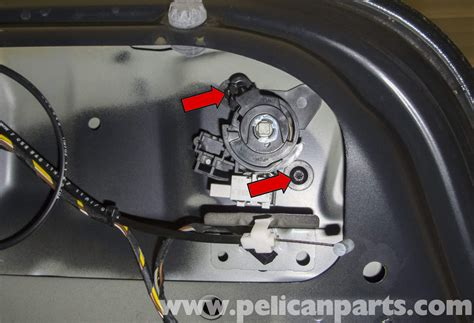 how to install replace trunk lock cylinder key honda bmw e60 5 series trunk lock cylinder and latch replacement 2003 2010 pelican parts technical