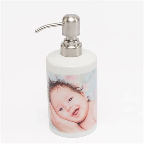 Dispenser Sharp Baby Lover personalised soap dispenser soap with photo bags