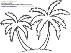 Palm TreeBeach Colors Hawaiian Quilt Free Motion Palms Trees  sketch template