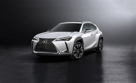 lexus crossover inside 2019 lexus ux crossover revealed car and driver