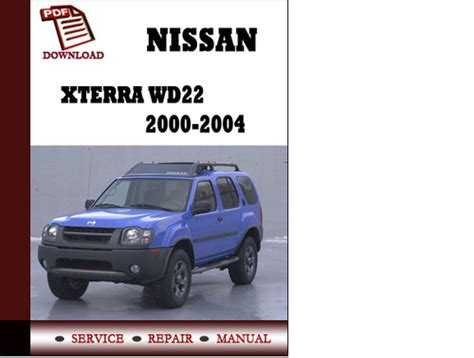 automotive repair manual 2003 nissan xterra auto manual free workshop manual 2003 nissan xterra nissan xterra 2003 workshop service repair manual