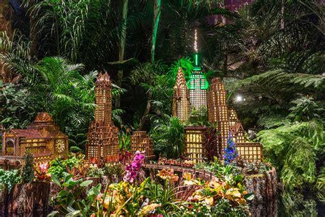 holiday train show press room  york botanical garden