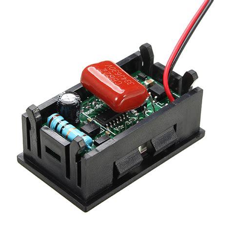 Mini Digital Voltmeter Voltage 0 56 inch ac70 500v mini digital voltmeter voltage panel