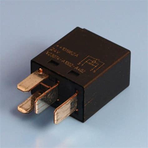 micro resistor 24v 25 4 pin normally open contact micro relay with resistor form a