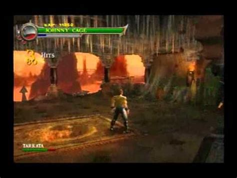 mk: shaolin monks johnny cage at soul tombs youtube