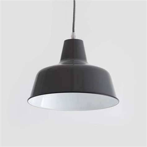 Gray Pendant Light Atlantic Grey Pendant Light By Horsfall Wright Notonthehighstreet