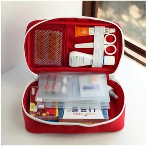 Travel Medicine Pouch Tas Travel P3k 2pcs portable aid emergency only bag no medicals survival bag wrap hunt travel storage
