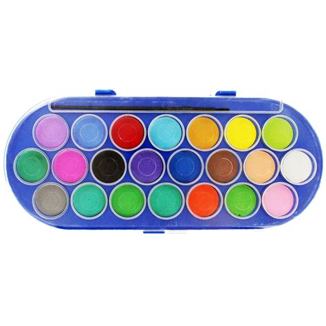 color sets colour 22 watercolour paints and brush set