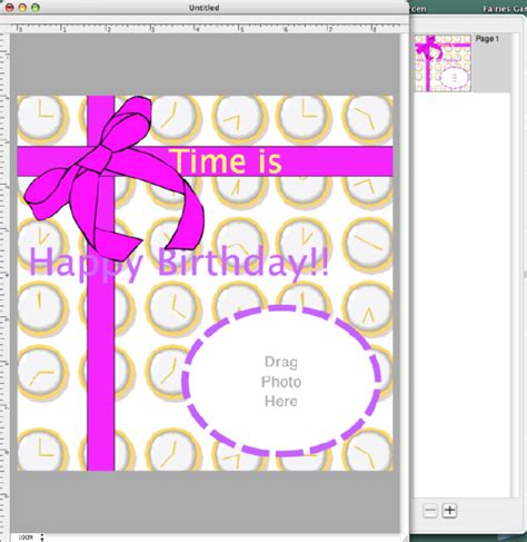 how to make a birthday card template