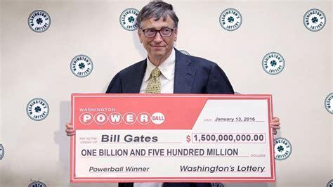 the power winner of bill gates wins powerball 1 5 billion jackpot