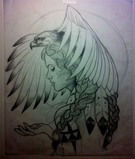 tattoo eagle girl 234 besten tattoos ideen bilder auf pinterest