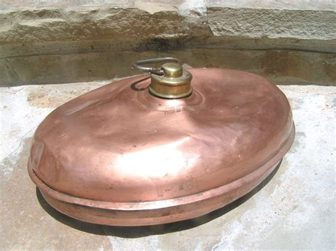 bed foot warmer antique footwarmer copper fireplace bed foot warmer marked