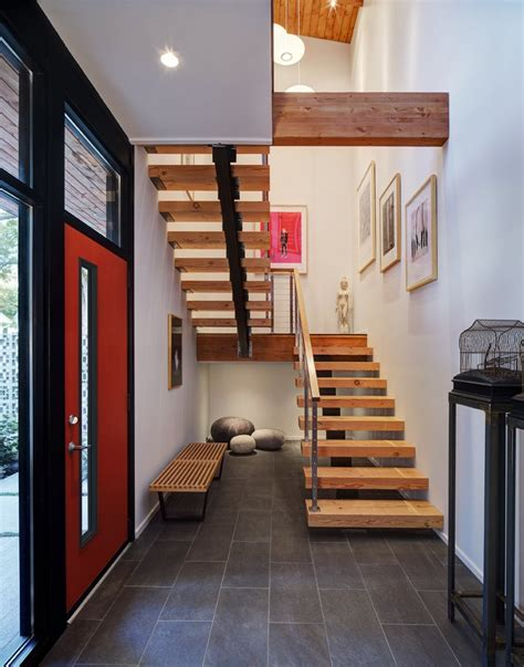 home design story stairs wood metal stairs home renovation in madison wisconsin