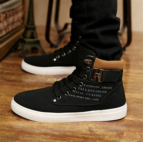 Variable Shoes High Black fashion s tennis shoes casual canvas lace up sport shoes sneakers boots ss ebay