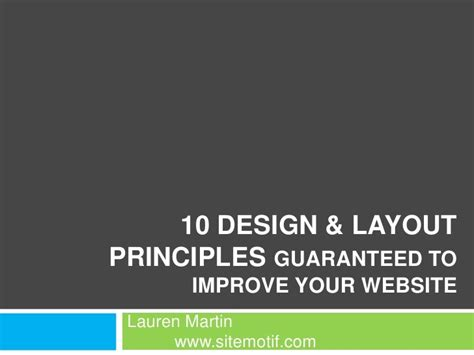 web layout principles 10 design layout principles guaranteed to improve your
