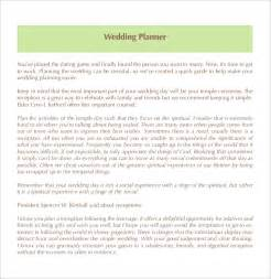 wedding venue business plan template wedding planner template 10 free word pdf documents