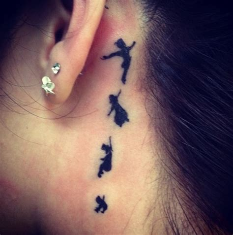 tattoo behind ear images behind the ear tattoo 55 different suggestions