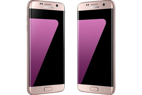 Samsung Galaxy S7 Edge Pink pink samsung galaxy s7 edge unofficially available in the us