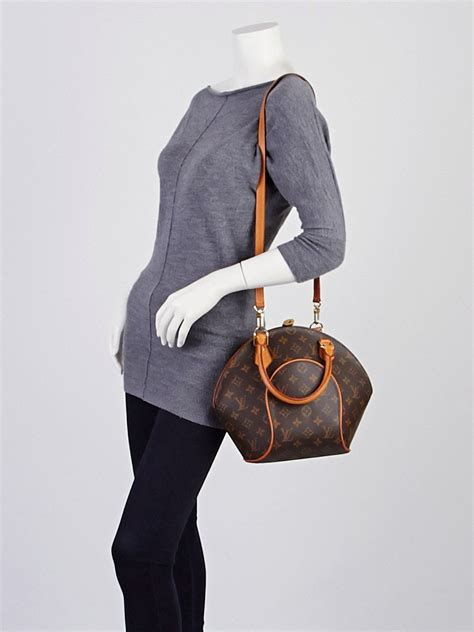 louis vuitton monogram canvas ellipse pm bag  shoulder
