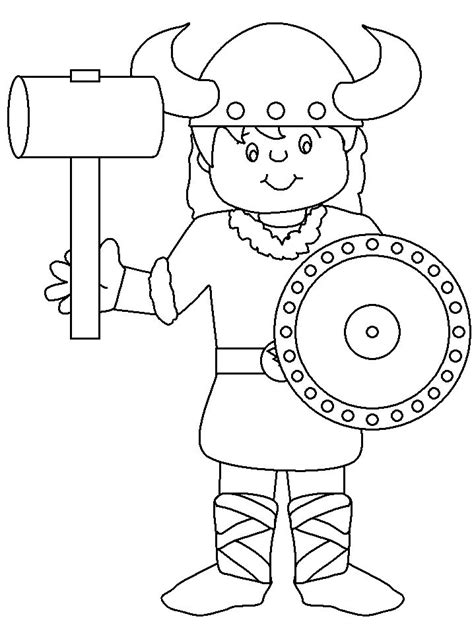 coloring pages for kids norway norway viking countries