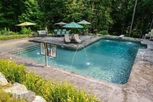 l shaped pool designs l shape inground pool kits royal swimming pools awesome inground pool designs pinterest